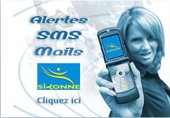 Alerte sms SIYONNE