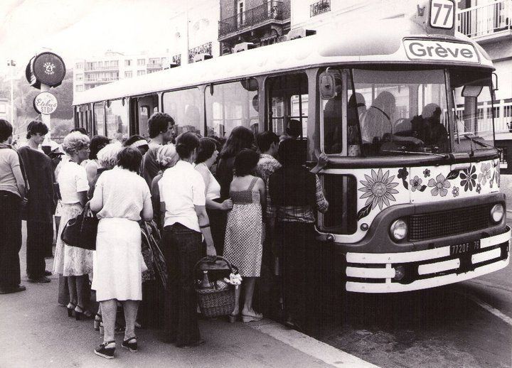 Ancetre du bus greve