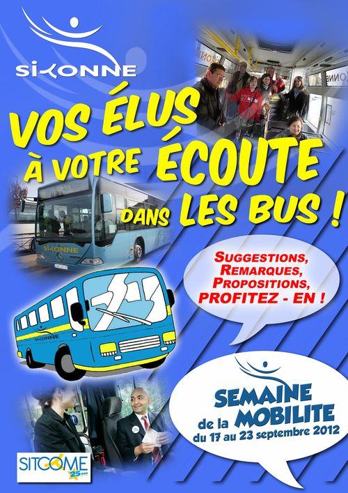 Vos elus dans les bus 2012
