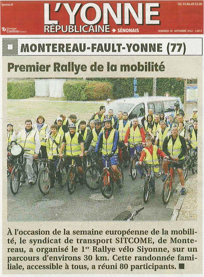 Article de presse yonne rep rallye 2012