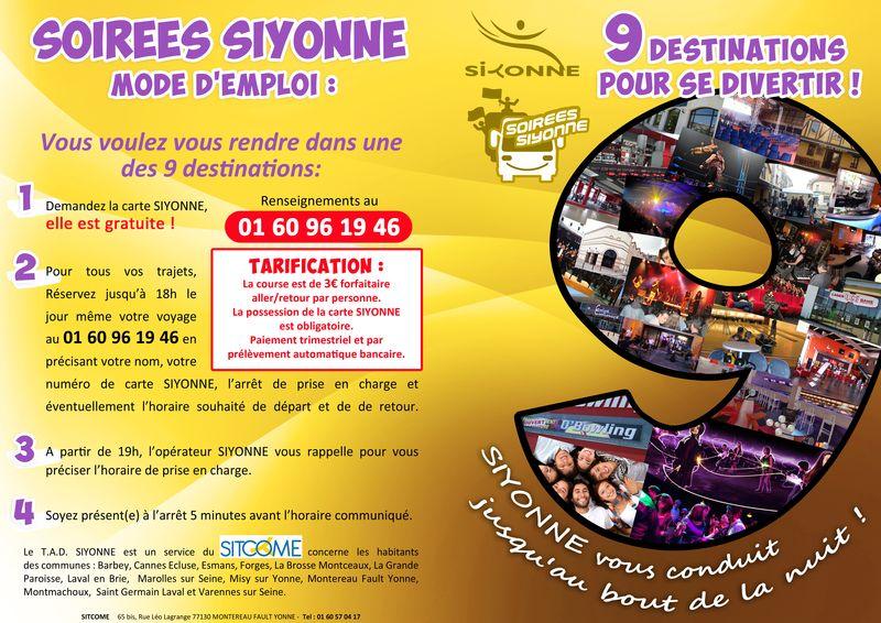 RECTO SOIREES SIYONNE