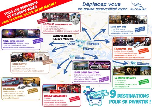 Dépliant A3 SOIREES SIYONNE 2013 VERSO