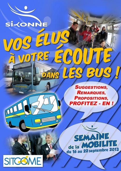 Vos elus dans les bus 2013