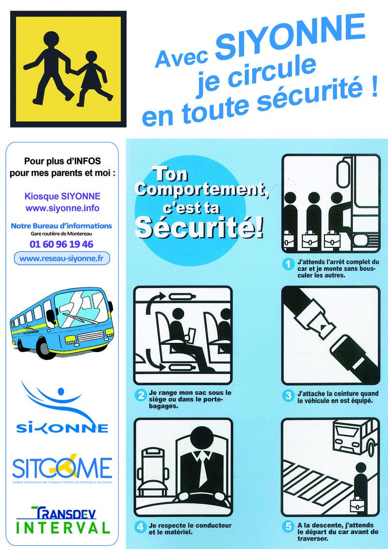 Plaquette prévention routiere scolaire 2012